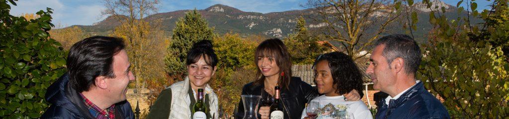 Ruta del Vino de Rioja Alta Cabecera viajar en FAMILIA