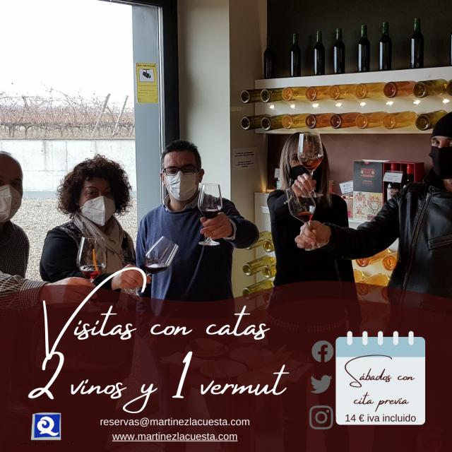 Bodegas Martínez Lacuesta: visitas, experiencias gastronómicas y bar de vinos