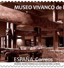 The Vivanco Museum in Briones features on a new Correos stamp