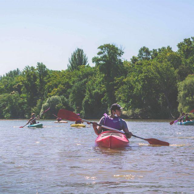 Experiencia en Kayak en Bodegas Altanza