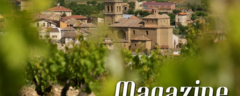 "Rioja Alta protagoniza la portada de la revista ""Magazine. Rutas del Vino de España"""