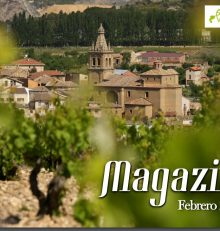 """Rioja Alta stars on the cover of the magazine """"Magazine. Wine Routes of Spain""""."""