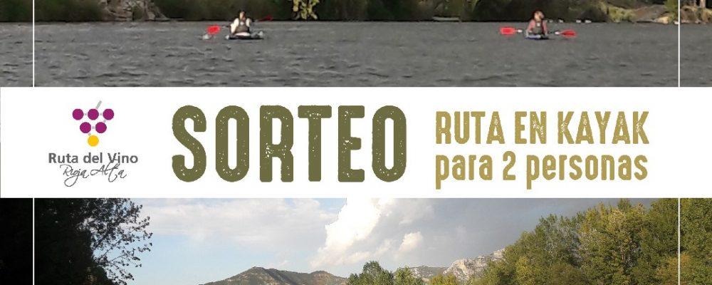 Gana una ruta en Kayak para 2 personas en la Ruta del Vino Rioja Alta