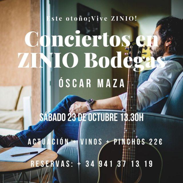 Actuación de Oscar Maza en Bodegas Zinio
