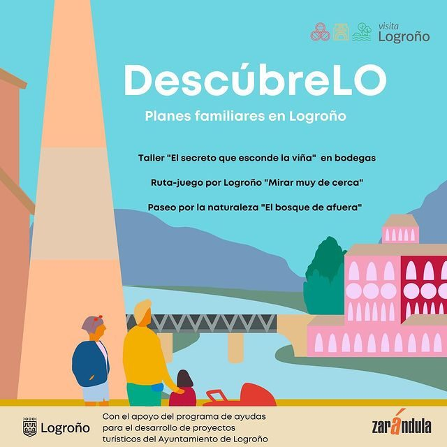Planes familiares en Logroño con Viña Ijalba