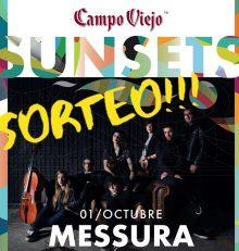 Sorteo de una entrada doble para el concierto de Messura en Bodegas Campo Viejo