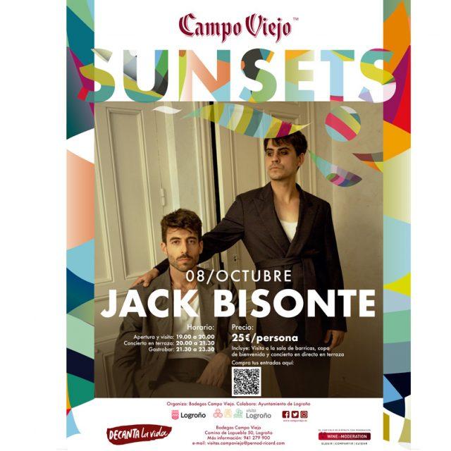 Jack Bison concert in Campo Viejo